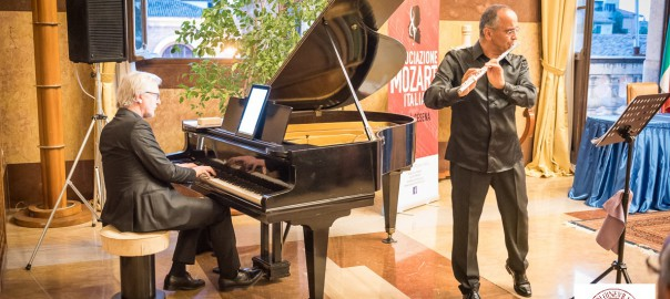 Yuri Ciccarese (flauto) Pierlugi Di Tella (pianoforte)